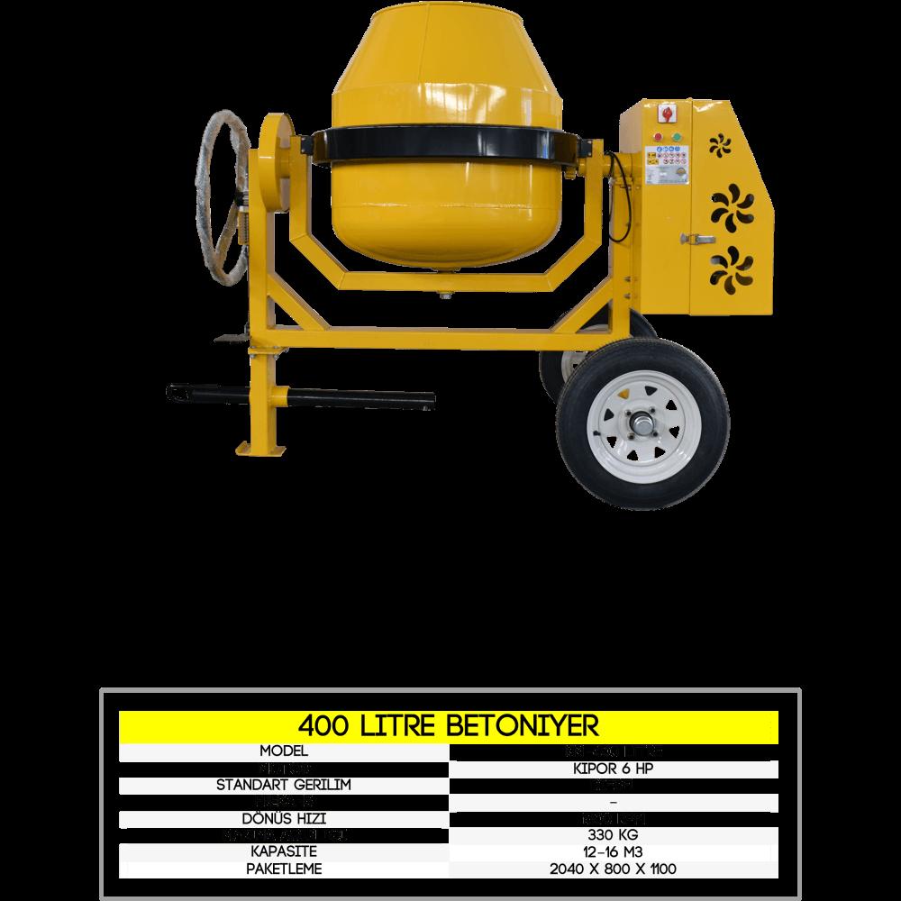 betoniyer makinası