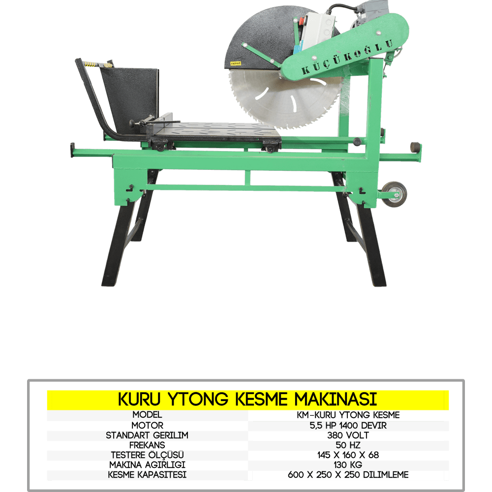 tuğla kesme makina